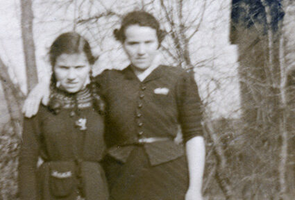 Gerda mit Tochter Ilse