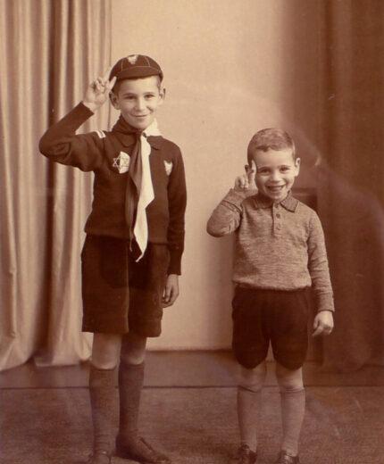 Die Söhne Ben und Jakob van Dam